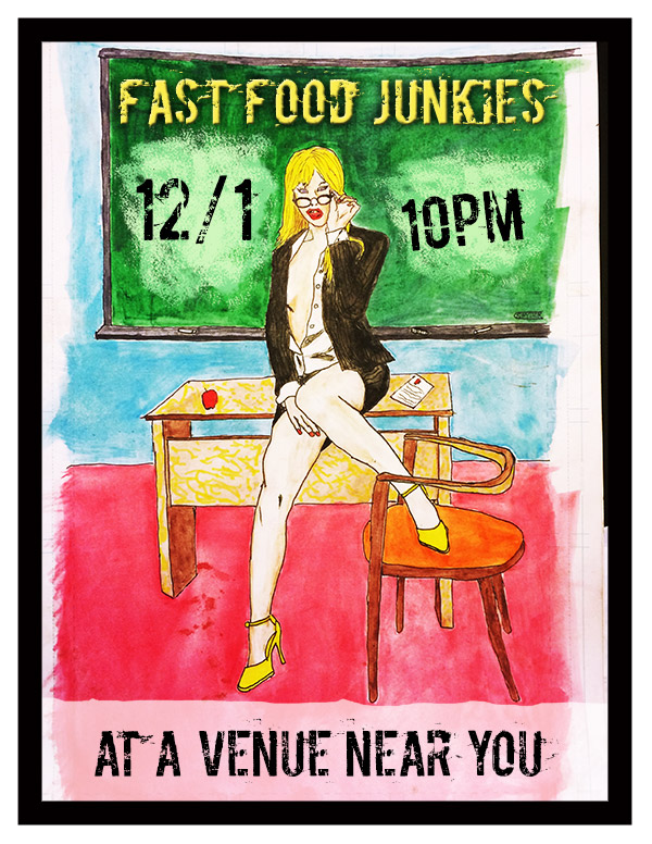 Fast Food Junkies poster